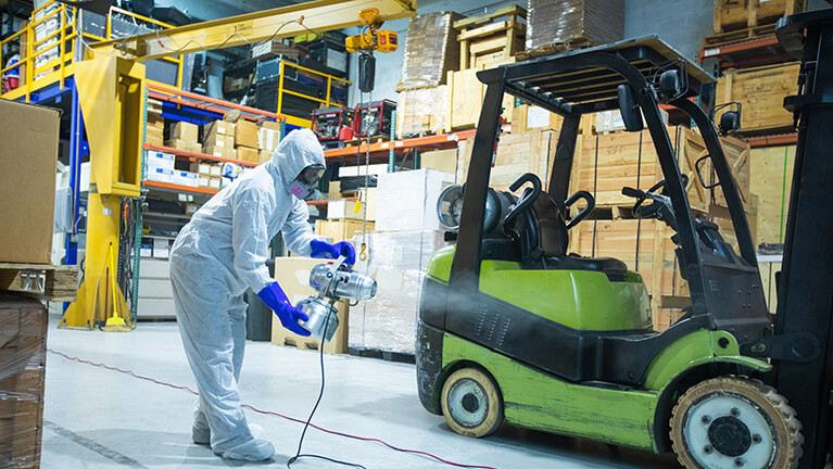 Powerful, game-changing software for in-house cleaning and sanitization operations