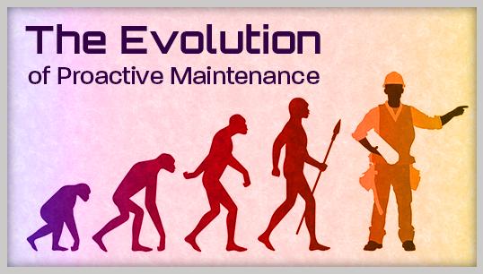 The Evolution of Proactive Maintenance