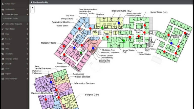 Interactive asset mapping in your CMMS: The benefits of spatial intelligence